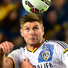 Leaving LA: Steven Gerrard has been tight-lipped over his future plans
