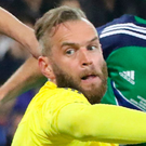 Northern Ireland goalkeeper Alan Mannus