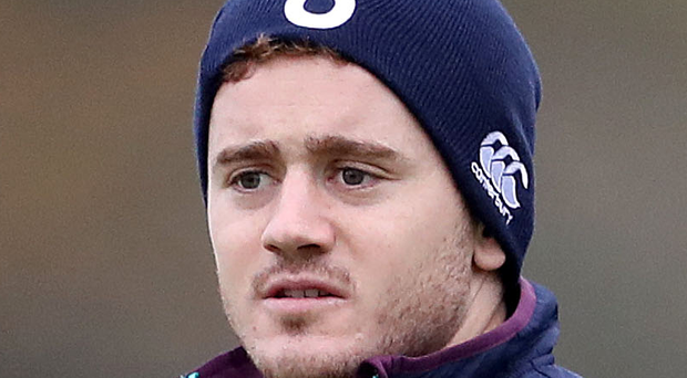 Competition: Paddy Jackson is targeting a spot on the bench