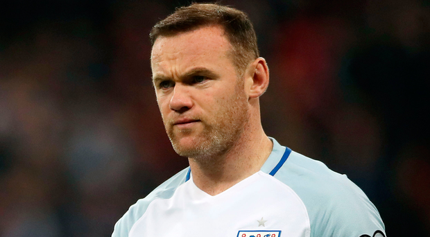 Night to forget: Wayne Rooney was pictured while partying