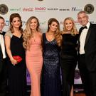 The team from Mary's Bar, Magherafelt at Hospitality Ulster's Pub of the Year Awards 2016 at Plaza Hotel, Belfast. Picture by Kelvin Boyes, Press Eye.