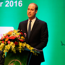 The Duke of Cambridge at the third International Conference on the Illegal Wildlife Trade