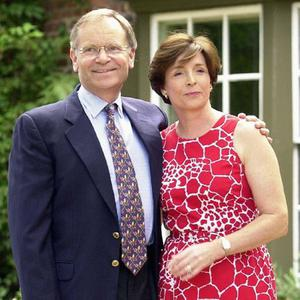 By the book: Jeffrey Archer with his wife Mary