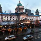 Belfast Christmas Market - 20th November 2016 Photograph By Declan Roughan