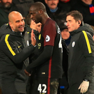 Job well done: Pep Guardiola hails two-goal Yaya Toure