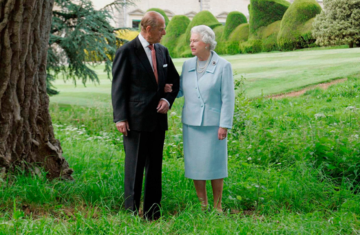 The Queen and the Duke of Edinburgh have celebrated their anniversary