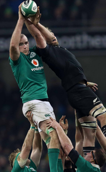 Warning: Devin Toner wants Ireland to finish on a high note