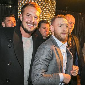 Conor McGregor meeting fans at El Divino for TABU. 19th November 2016. Liam McBurney/RAZORPIX
