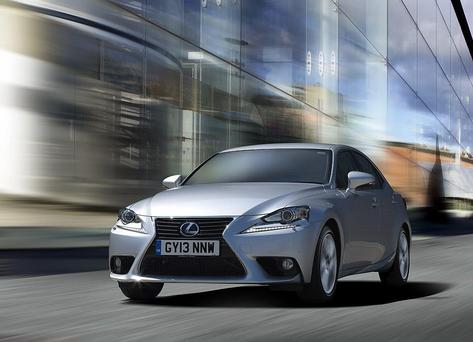 Lexus iS 300h: Bean counters will also note that the electric motor has its own eight-year warranty