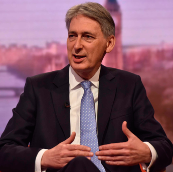 Chancellor of the Exchequer Philip Hammond will deliver the Autumn Statement tomorrow