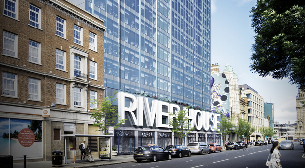 An artist's impression of a revamped River House on High Street in Belfast