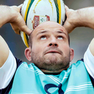 Looking up: Captain Rory Best and Ireland are up to fourth