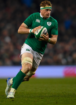 Tough sport: Jamie Heaslip has defended rugby's physicality