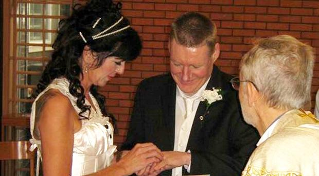 Brendan McConville and Siobhan Monaghan marry in prison