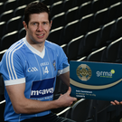 Just the ticket: Moy and Tyrone footballer Sean Cavanagh at the GRMA Launch at Croke Park in Dublin. The GRMA (go raibh maith agat) scheme is a new GAA membership card