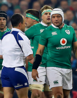 Talk over: Jaco Peyper and Rory Best