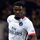 No go: Serge Aurier will miss out on PSG's clash with Arsenal in London