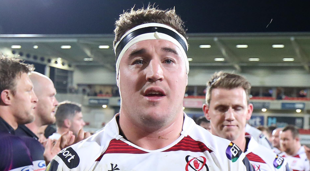 Ulster captain Rob Herring
