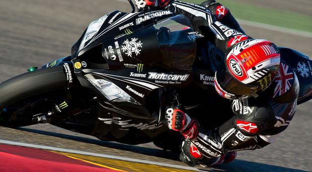 "Out of this world: Double World Superbike king Jonathan Rea was described as ""an alien"" after his flying pace"