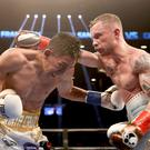 American dream: Carl Frampton defeats Leo Santa Cruz in July