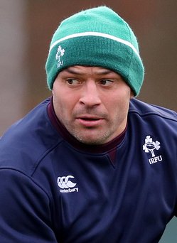 Centurion: Ireland skipper Rory Best