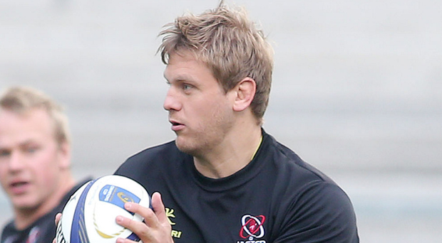Welcome return: Chris Henry was due to start for Ulster against Zebre on Friday night