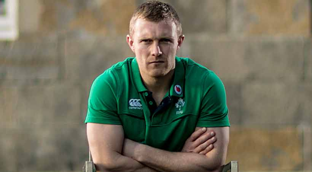 Tough time: Keith Earls admits he thinks about former Munster coach Anthony Foley 'every day'