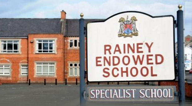 Rainey Endowed in Magherafelt was found to not only have achieved some of the top examination results, but was also praised for its extracurricular activities and charitable work