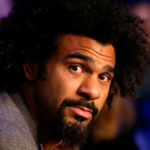 War footing: David Haye is ready to do battle with Tony Bellew