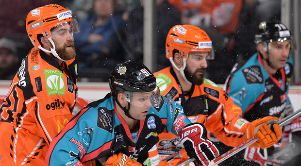 Crowded out: the Giants are joint second with the Sheffield Steelers in the Elite League, despite a poor recent run