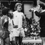 Glory days: Liverpool's Kevin Keegan and Billy Bremner of Leeds are sent off for trading blows in the 1974 Charity Shield