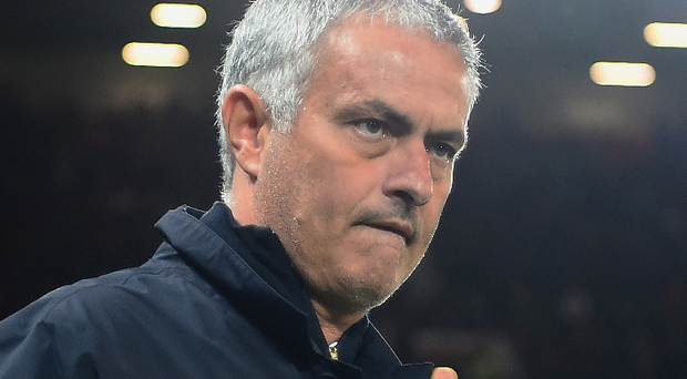 Familiar sight: Jose Mourinho has been sent off three times in 20 league games