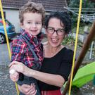 Proud mum: Jillian Canney and son Sean