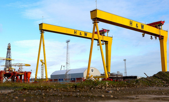 The Belfast shipyard is 'well placed' to bid for the work