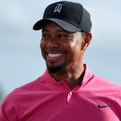Back again: Tiger Woods has worked hard to recuperate
