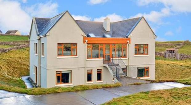 House belonging to Barry O'Sullivan which is being sold off to aid Focus Ireland