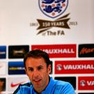 Up for it: Gareth Southgate is thrilled to land the England job