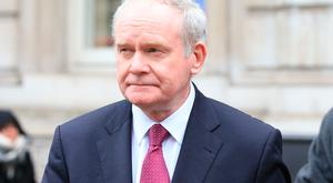 Deputy First Minister Martin McGuinness Photo: Jonathan Brady/PA Wire