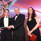 Champ: Michael Conlan with Deputy First Minister Martin McGuinness and Belfast Telegraph Editor Gail Walker
