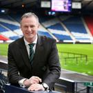 Wanted man: Michael O'Neill's stock has risen following this summer's Euro 2016 finals in France