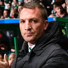 Boost: Celtic boss Brendan Rodgers