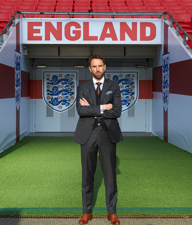 Ambition: New England manager Gareth Southgate issued a warning to his players yesterday – drink and lose your place