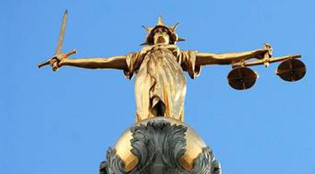 An addict caught with a syringe full of heroin behind his ear has been ordered to complete 18 months probation
