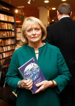 Author Marie Heaney at the launch of her book called All Through The Night at Waterstones in Belfast