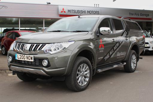 All Mitsubishi L200 models now get air-con, Bi-xenon headlights and switchable four-wheel drive