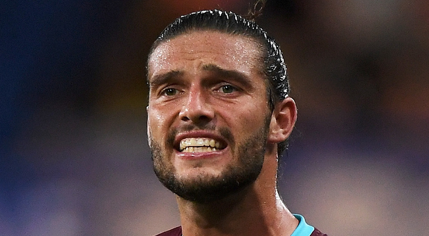 Hammer time: Andy Carroll