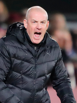Rallying cry: Mark Warburton said his players are still gelling