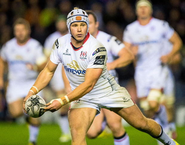 Fired up: Luke Marshall is confident that struggling Ulster can triumph tonight in Cardiff
