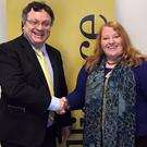 Stephen Farry and Naomi Long