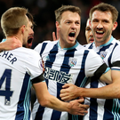 Roaring success: Jonny Evans